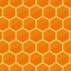 background image honeycomb. flat design