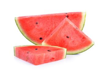 watermelon on white background