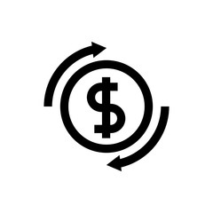 Money, exchange line icon