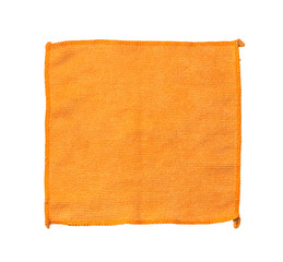 yellow microfiber cleaning cloth