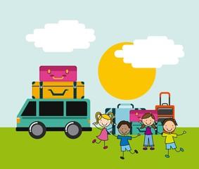 Children icon design