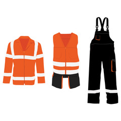 Safety jacket set