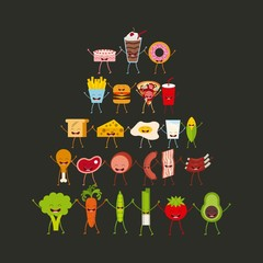 food character design
