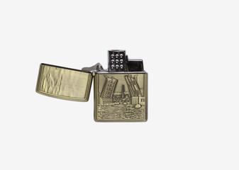metal lighter with bridge image