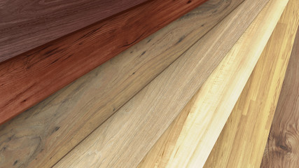 Flooring laminate or parquet samples