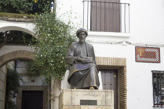 Statue of Maimonides in Cordoba - Spain