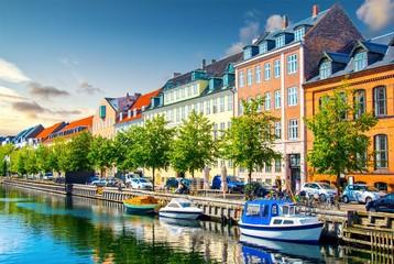 Fototapeten Skandinavien Copenhagen, Denmark