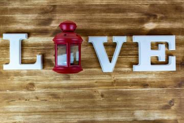 Rote Latene der Liebe