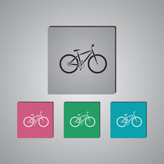 Bicycle sport icon
