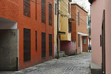 Coyoacan neighborhood, Mexico City.