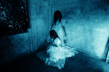 Me and My Sister,Ghost in Haunted House