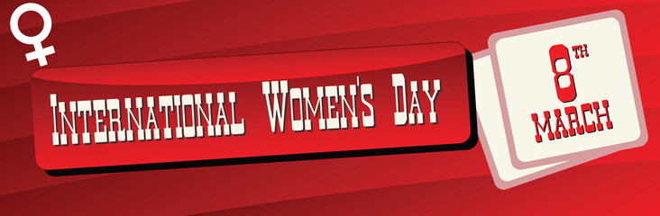 Banner International Women is Day