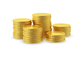 Symbolic image of gold coins