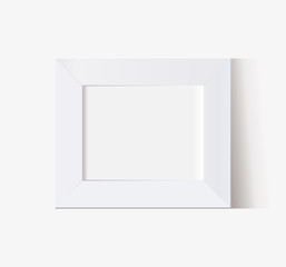 vector frame multifunction blank with shadow horizontal