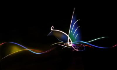 Fotobehang - abstract elegant line