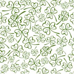 Clover seamless pattern