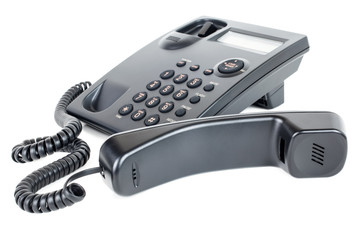 Business Landline Telephone Off the Hook