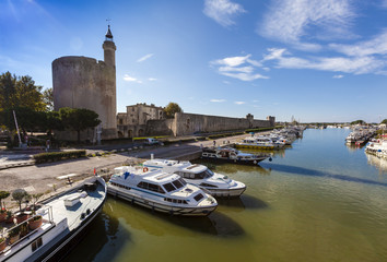 Aigues-Mortes Hafen