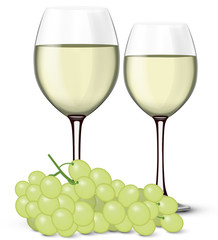 Verre de vin blanc 05