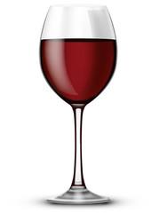 Verre de vin rouge 01