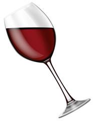 Verre de vin rouge 02