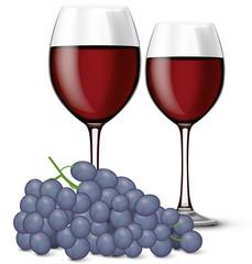 Verre de vin rouge 05