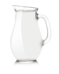 White pitcher mockup