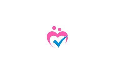 family check icon logo