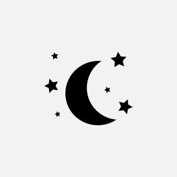 moon  stars  icon