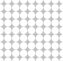 Seamless abstract minimal pattern with dots, polka dots.