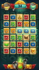 Jungle shamans GUI playing field