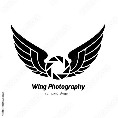 eagle logo bird logo animal logo vector logo template stock image