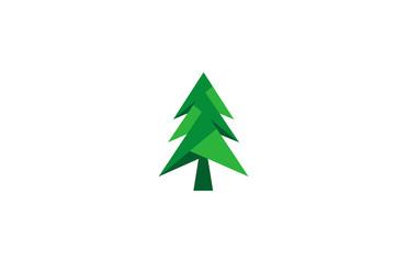 triangle tree pine logo