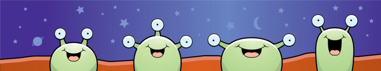 Martians Smiling