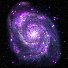 View image of Galaxy system isolated Elements of this image furnished by NASA