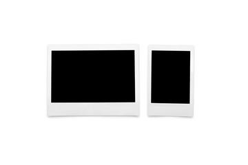 Modern format instant film photo sizes