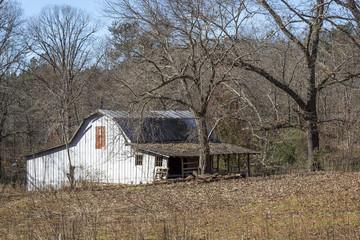 Old Barn in the Appalachian Mountains - Georgia
