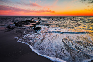 Cape May Seashore sunset