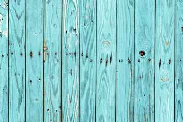Vintage wood background with peeling paint.