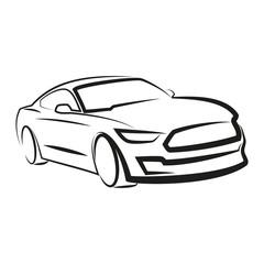 samochód wektor