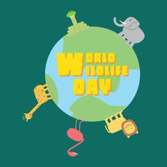 World Wildlife Day - Earth