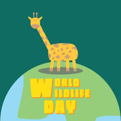 World Wildlife Day - Girrafe