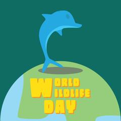 World Wildlife Day - Dolphin
