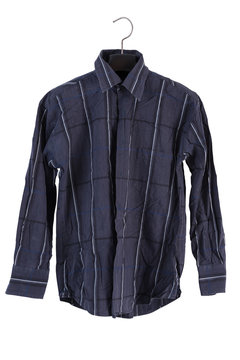 shirt on a hanger isolated