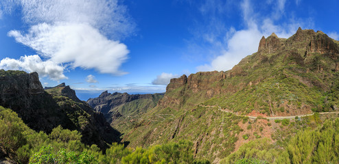Tenerife, Route de Masca