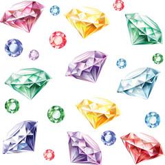 Seamless pattern from diamonds