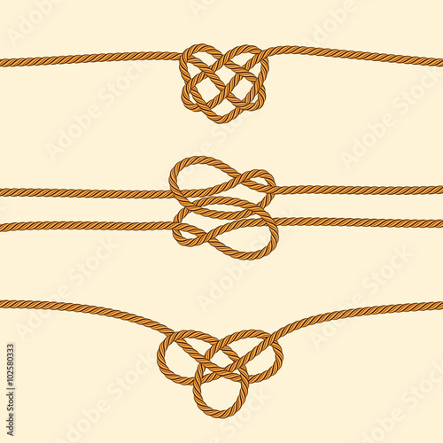 decorative rope knots - photo #37