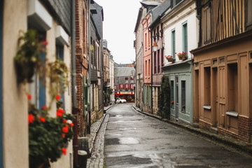French port city of Honfleur