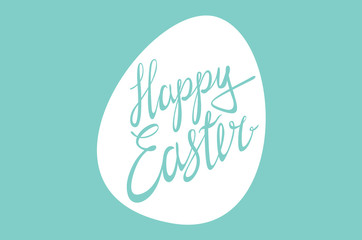 Happy Easter / Vector lettering