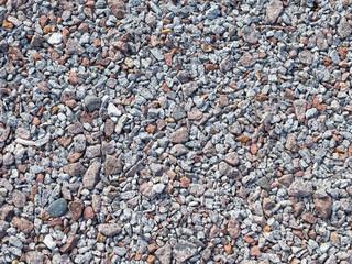 gray and brown granite gravel